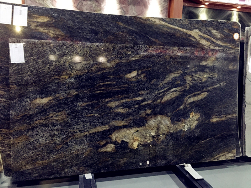 Black Granite Slabs : Cosmic black granite slabs china