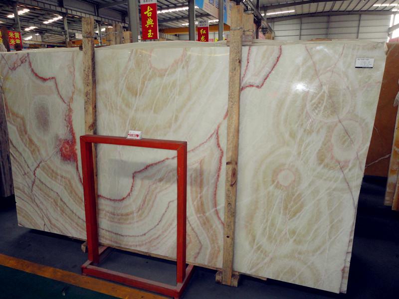 Rainbow Onyx Marble : Rainbow onyx slabs china