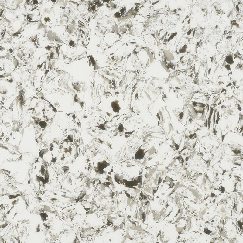 GQ002V   Shell White Quartz Slabs, Quartz Countertops China