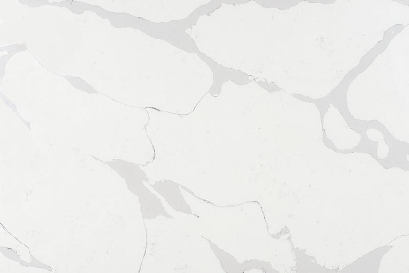 GQ100   Calacatta White Quartz Slabs, Quartz Countertops China