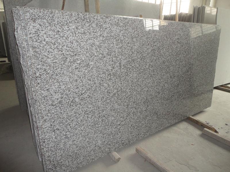 G439 Big White Flower Granite Slabs Snow Gray Granite