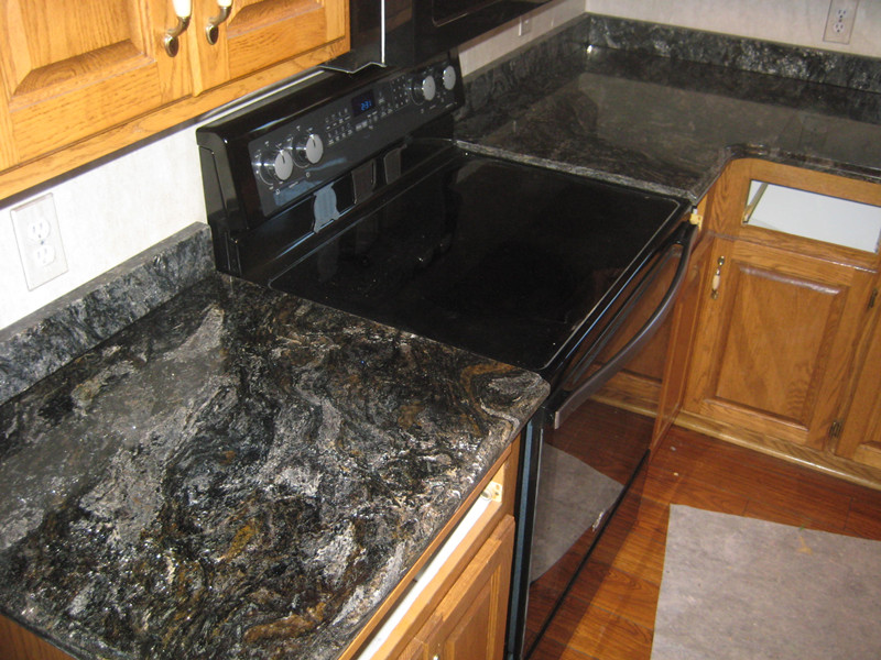 Black Granite Kitchen Countertops cosmic black granite countertops china | cosmic black granite
