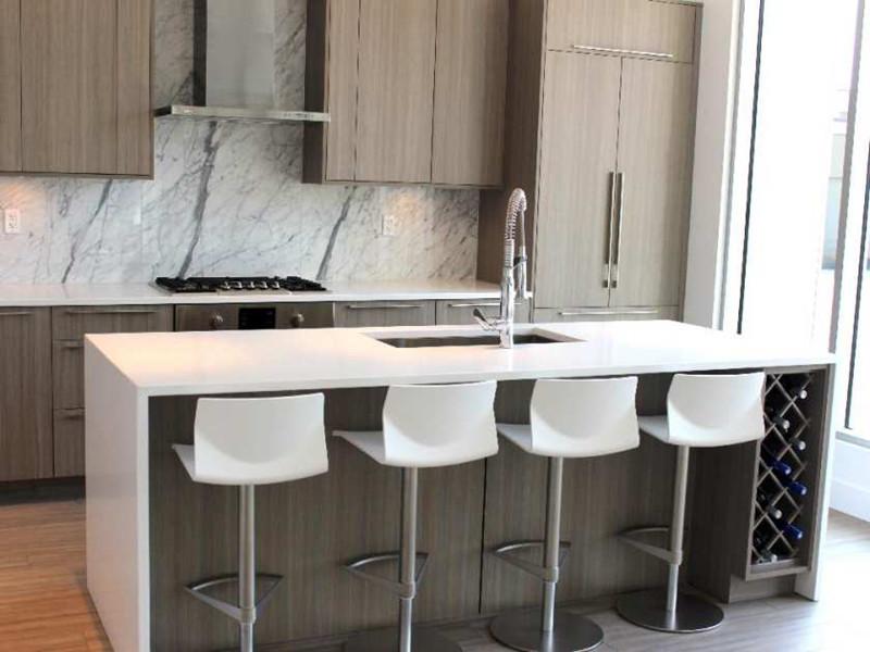 Hotel Quartz Island Tops China | Hotel Quartz Kitchen Tops China |  Affordable Hotel Countertops