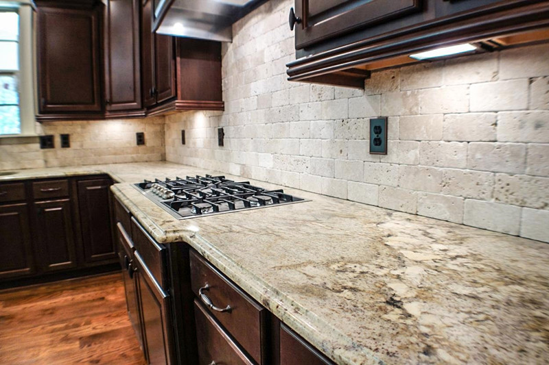 China Residential Kitchen Granite Countertops China Affordable ...
