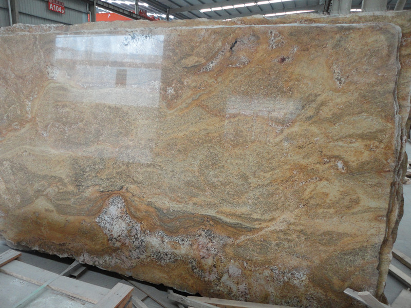 Brazilian Granite Slabs : Brazil indian summer granite slabs china