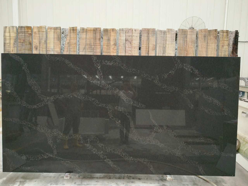 calacatta black quartz slabs quartz countertops china