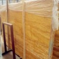 Golden Travertine Slabs China