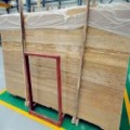Wooden Yellow Travertine Slabs China