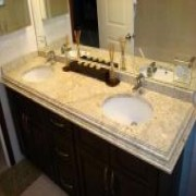 Hotel Granite Ogee Edge Vanity Tops China | Bathroom Ogee Edge Vanity Tops China | Affordable Ogee Edge Vanity Tops