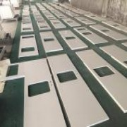 Laminated White Quartz Vanity Tops for WS Hotel| Quartz Countertops | Global Stone