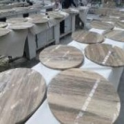 Four Seasons Marble Coffee Tops | Silver Travertine Tops China | Affordable Marble Tops